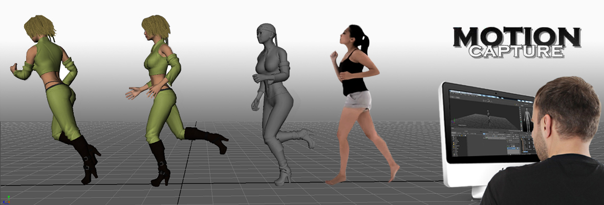Motion Capture Animation Studio