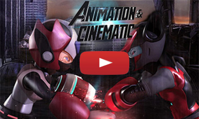 Game Cinematic Trailer - Post Production Animation Studio